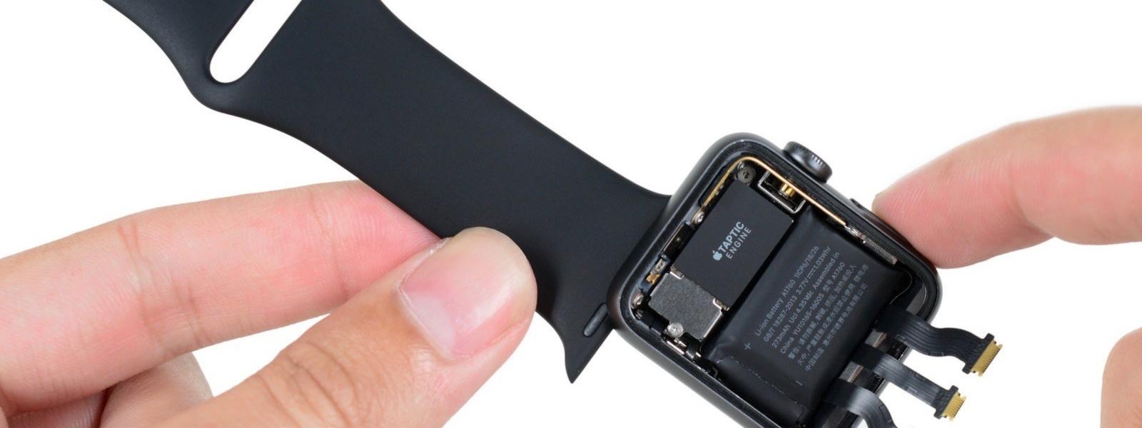 Cennik wymiany szyby i baterii w Apple Watch